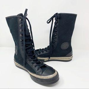 RARE JWA Chuck 70 XX Knee High Black Converse 7.5